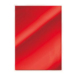 Ruby Red High Gloss Mirror Card - Tonic Studios