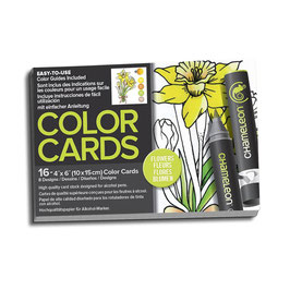 Color Cards Flowers - Chameleon