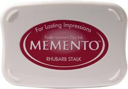 Memento Inkpad - Rhubarb Stalk