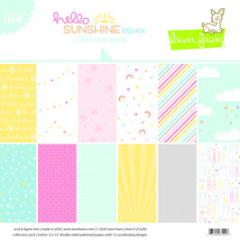 Hello Sunshine Remix 12x12 Collection Pack - Lawn Fawn