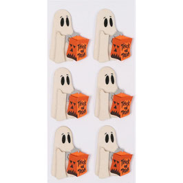 "Mini Stickers ""Trick or Treat Ghost"" - Little B"