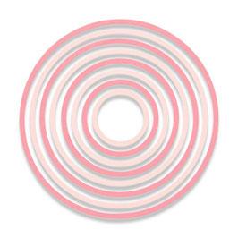 "Thinlits Die Set ""Concentric Circles"" - Sizzix"