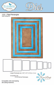 Fitted Rectangles - Elizabeth Craft Designs