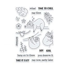 "Clearstampset ""Adorables Sammy Take It Easy"" - Tonic Studios"
