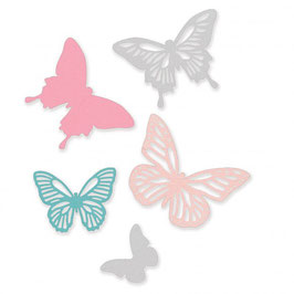 "Thinlits Die Set ""Butterflies""- Sizzix"