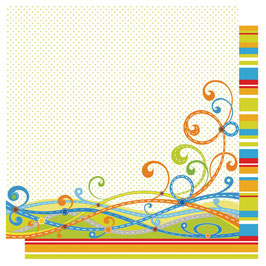Glitter-Papier Transportation swirls - Craft n Craftin'