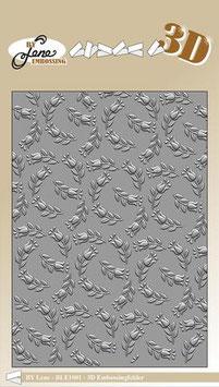 "3D Prägeschablone ""Tulpen"" - By Lene"