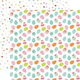 Easter Wishes, Egg Hunt - Echo Park Paper