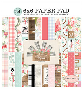 Farmhouse Market 6x6 Paperpad - Carta Bella