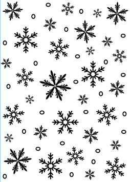 """Prägeschablone """"Snowflake"""" - Darice"""