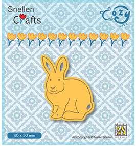 "Stanzschablone ""Hase"" - Nellie's Choice"