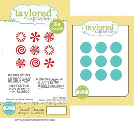 "Stamp & Die Combo ""Sweet Season"" - Taylored Expressions"