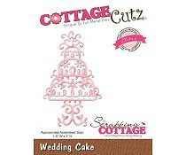 Wedding Cake - CottageCutz