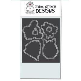 """Stanzschablonen """"Coffee Monster"""" - Gerda Steiner Designs"""