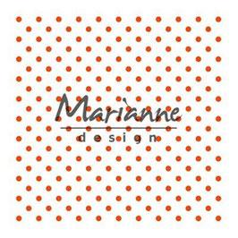 """Prägeschablone """"Polka Dots"""" - Marianne Design"""