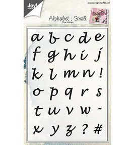 Alphabet Small - Joy Crafts