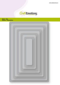 """Big Nesting Die """"Rectangles, Rounded Corner"""" - CraftEmotions"""