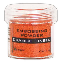 "Embossingpulver ""Orange Tinsel"" - Ranger"
