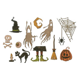 "Thinlits Die Set ""Frightful Things"" - Sizzix"
