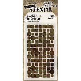 """Layered Stencil """"Tiles"""" - Tim Holtz"""