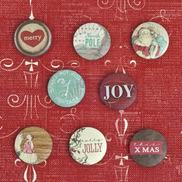 Buttons Holiday Jubilee - Prima Marketing