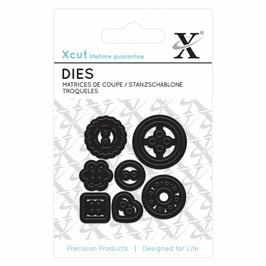 """Mini Die """"Buttons"""" - Xcut"""