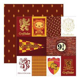 """Designpapier """"Harry Potter, Gryffindor"""""""