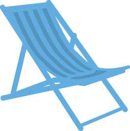 """Creatables """"Deck Chair"""" - Marianne Design"""