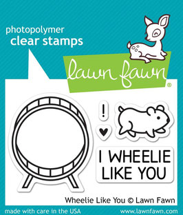 "Clearstamp ""Wheelie Like You"" - Lawn Fawn"
