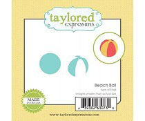 Little Bits Beach Ball - Taylored Expressions