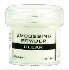 Clear - Ranger Embossing Pulver