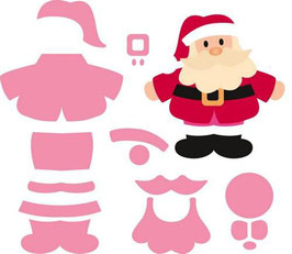 "Collectables ""Eline's Santa"" - Marianne Design"