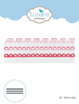 Valentines Edges - Elizabeth Craft Designs