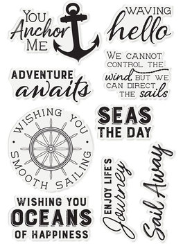 "Clearstamp ""Seas The Day"" - Crafter's Companion"