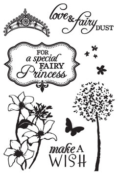"Clearstamp ""Fairy Dust"" - Kaisercraft"