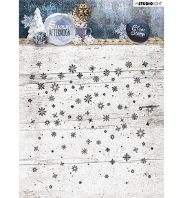"""Clearstamp """"Background Snowy Afternoon #401"""" - Studiolight"""