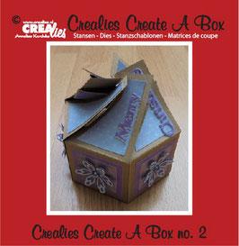 Create A Box, Sechsseitige Box - Crealies