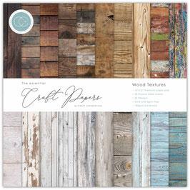 Wood Textures 12x12 Paper Pad - Craft Consortium