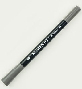 Memento Dual Tip Marker - Gray Flannel