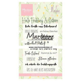"Clearstamp ""Hallo Ostern"" - Marianne Design"