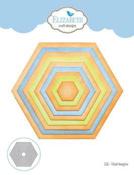 Fitted Hexagons - Elizabeth Craft Designs