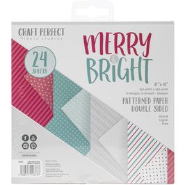 Merry & Bright 6x6 Paperpad - Tonic Studios