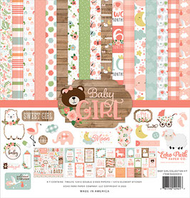 Baby Girl 12x12 Collection Kit  - Echo Park