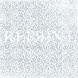 Dusty Blue Collection, Small Blue Flowers - Reprint