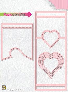 Magic Card Die, Herz  - Nellies Choice
