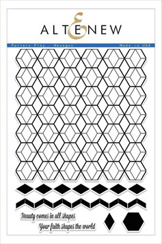 Pattern Play - Hexagon Stamp Set - Altenew