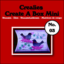 "Create A Box MINI ""Pillowbox"" - Crealies"