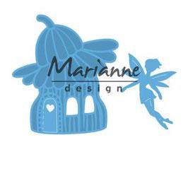 """Creatables """"Fairy Flower House"""" - Marianne Design"""