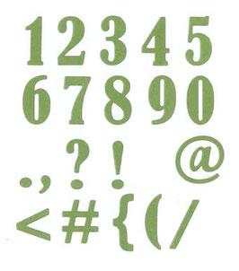 Zahlen Serif - Impronte d'Autore