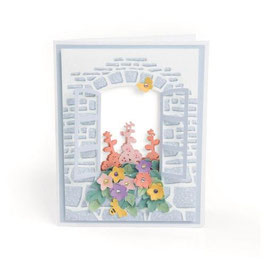 "3-D Impresslits Embossing Folder ""Window Box"" - Sizzix"
